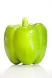 Paprika vert frais Images libres de droits
