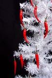 Paprika-Weihnachtsbaum Stockfotografie