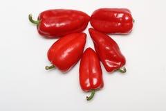 Paprikaes vermelhos Imagens de Stock