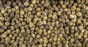 Paprikapepparkornbakgrund Naturlig krydda textur fotografering för bildbyråer