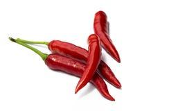 papryka chili czerwone Zdjęcie Stock
