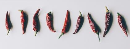 papryka chili czerwone Zdjęcia Stock