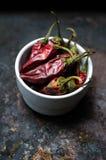 papryka chili suszony Zdjęcie Stock