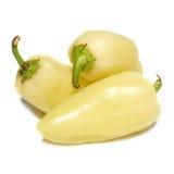 papryki kolor żółty Zdjęcia Royalty Free