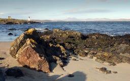 Paps di Jura da Islay, Scozia Immagine Stock