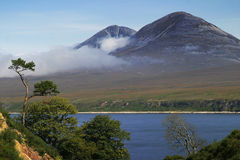 Paps of Jura royalty free stock image