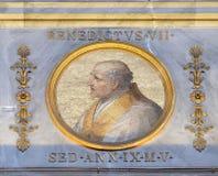 Papst Benedikt VII Lizenzfreies Stockbild