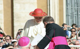 Papst Benedikt XVI lizenzfreies stockfoto