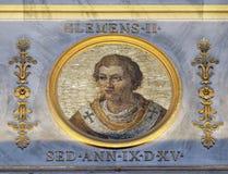 Papst Clemens II. Stockfotos