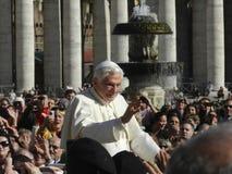 Papst Emeritus Benedict xvi stockbild