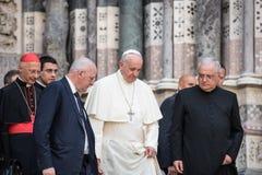 Papst Francis lizenzfreies stockbild