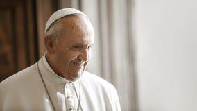 Papst Francis, Vatikan lizenzfreies stockfoto