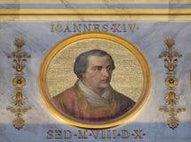 Papst Johannes XIV. Stockbild