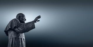 Papst John Paul II (³ Karol JÃ zef WojtyÅ-'A) Stockfoto