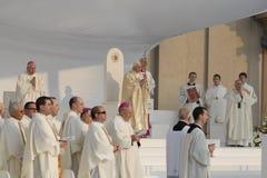 Papst Joseph Benedict XVI Lizenzfreie Stockfotos