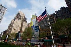 Papst New York auf Wand Lizenzfreie Stockfotos