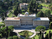 Papst Residence Lizenzfreies Stockbild
