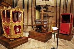 Papstbahren Stockbilder