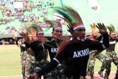 Papua dance Stock Photo