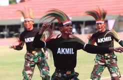 Papua dance Stock Photos