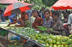 PAPUA-NEU-GUINEA LEUTE Stockfotografie