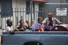 PAPUA-NEU-GUINEA LEUTE Lizenzfreie Stockfotografie