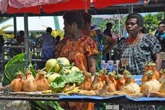 PAPUA-NEU-GUINEA LEUTE Lizenzfreie Stockfotos