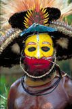 Papua New Guinea. Tribal Face Stock Images