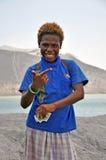 PAPUA NEW GUINEA PEOPLE Stock Image