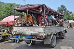 PAPUA NYA GUINEA FOLK fotografering för bildbyråer
