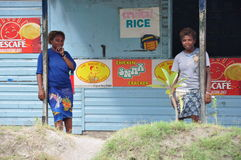 PAPUA NYA GUINEA FOLK arkivfoton