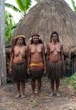 Papuan部落的妇女 免版税图库摄影