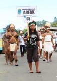 Papuaski plemię Arfak Obrazy Stock