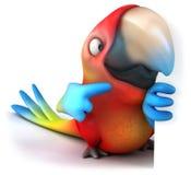 papuga ilustracji