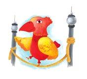 papuga Zdjęcie Stock