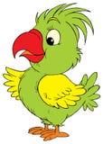 Papuga (wektorowa sztuka) Obraz Royalty Free