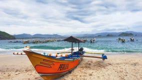 Papuma海滩 库存照片