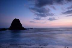 Papuma海滩,印度尼西亚 免版税库存照片