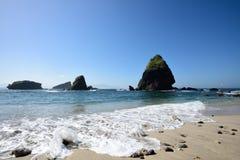 Papuma海滩,印度尼西亚 免版税库存图片