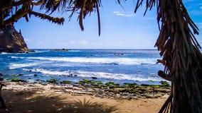 Papuma beach stock photo