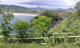 Papuma della spiaggia da jember fotografie stock