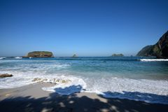 Papuma plaża, Indonezja Obraz Royalty Free