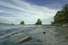Papuma strand Royaltyfria Bilder