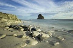 Papuma strand Arkivbilder