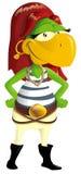 papuzi pirat Zdjęcie Royalty Free