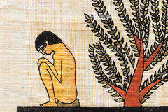 Papyrus égyptien photos libres de droits