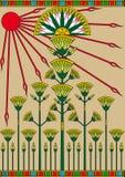 Papyrus égyptien images libres de droits