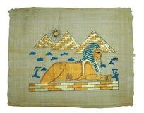 papyrus картины Стоковое Фото