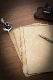 papyrus стола Стоковые Изображения