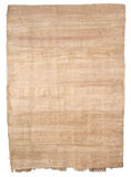 Papyrus. Original old handmade papyrus paper. Often used for rolled scrolls Stock Image
